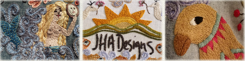 Welcome to JHA Designs, Custom Hand Embroidery